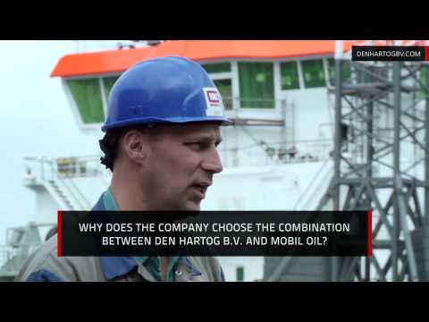 IHC worlds leading company for dredging and mining vessels - Mobil oil of Den Hartog