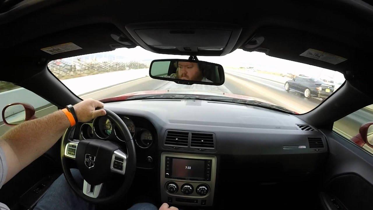 Stock 2011 Dodge Challenger SRT 8 392 Vs Stock 6 0 GTO - YouTube