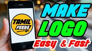 How to Create a Logo on Android in Tamil - Youtube Class in Tamil