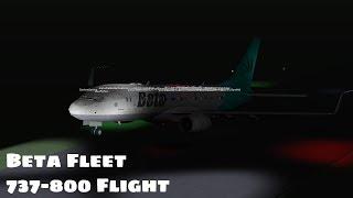 ROBLOX | Beta Fleet 737 800 Flight