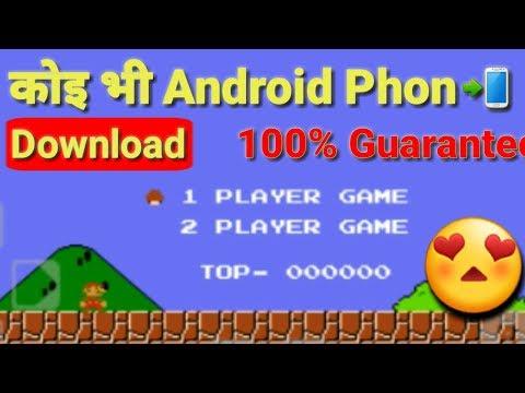 Super Mario Contra Original Game For Android Mobile   NES 1985s Game Mario Bros Download