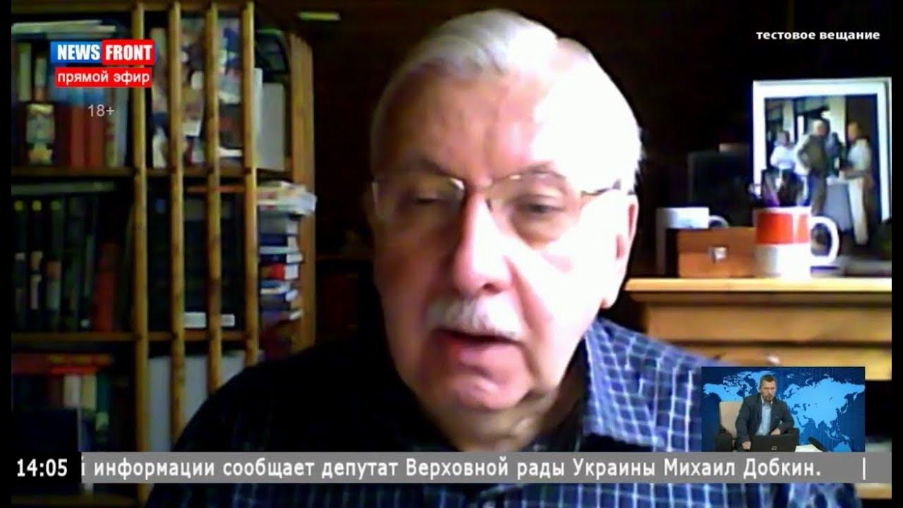 Виталий Третьяков в эфире на News Front 21 октября 2017 года.