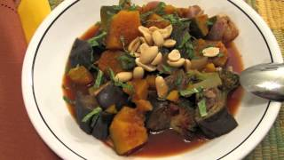 Vegan For The Holidays--african Pumpkin Stew With Cornbread