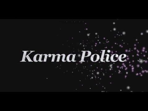 Karma Police with lyrics