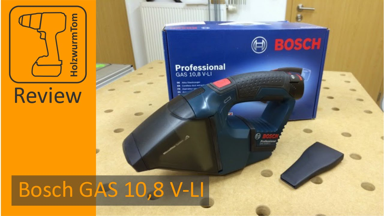 review bosch gas 10 8 v li test youtube. Black Bedroom Furniture Sets. Home Design Ideas