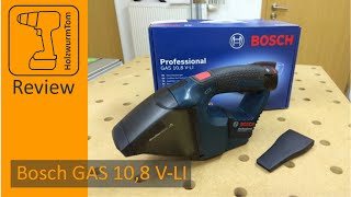 Review Bosch GAS 10,8 V-LI (Test)