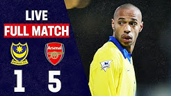 Henry & Ljungberg Bag Doubles   Portsmouth 1-5 Arsenal   Full Match Throwback   FA Cup 2003/04
