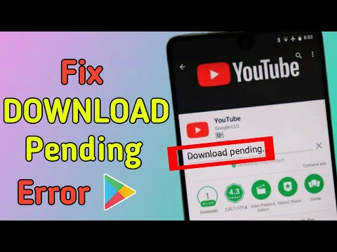 How To Fix Download Pending Error In Google Play Store | Android Tips & Tricks
