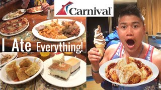 carnival breeze food 2018