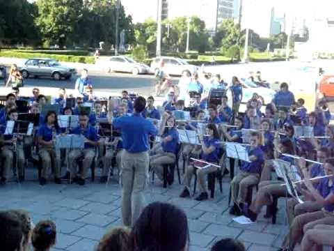 Council Rock High School Nort Marching Band en La Plata
