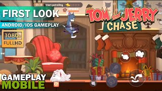 Tom And Jerry Chase GAMEPLAY - Android/IOS (Online Game)