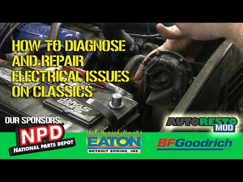 how to diagnose and repair horn issues on classic truck f100 sport custom  episode 313 autorestomod
