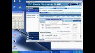 PDT-PLAME-PLANILLA ELECTRONICA-DECLARACION 07-2014