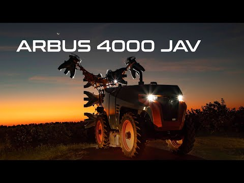 Arbus 4000 JAV - Solução autônoma para pulverização de precisão.