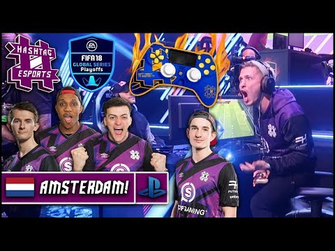 HUGE AMSTERDAM DRAMA/NEW HASHTAG CONTROLLER! | FIFA 18 GLOBAL SERIES