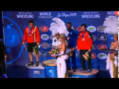 Артур Алексанян - двукратный чемпион мира.Гимн Армении