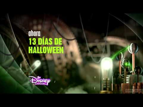 Disney Channel HD Spain Halloween Continuity and Ident 20-10-14 hd1080
