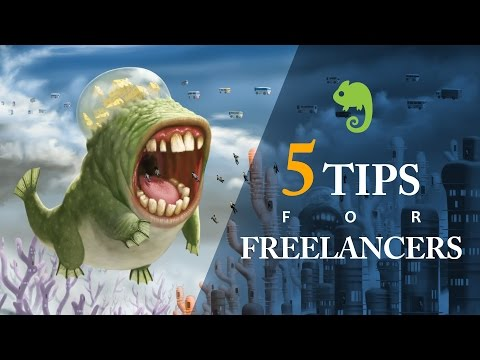 5 Tips for Freelance Artists