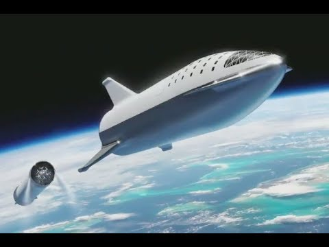 The New BFR Design (SpaceX Rocket)