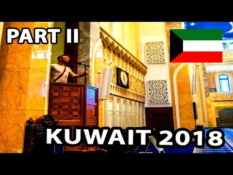 My Travel Diary - Kuwait (The Grand Mosque, Kuwait Towers) 02/04/2018