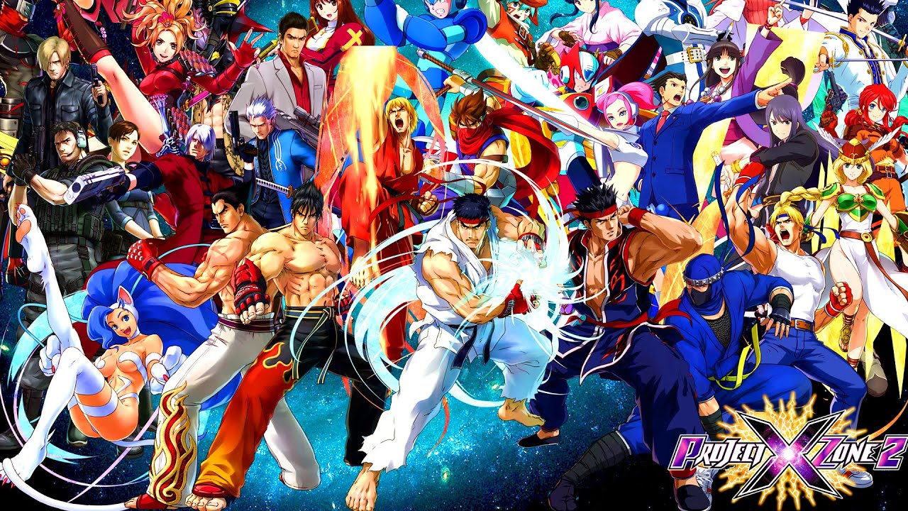 Project X Zone 2 Gameplay First Impressions New 3ds Youtube
