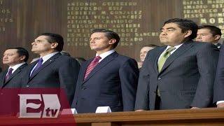 Conmemoran en Querétaro 99 aniversario de la Constitución Mexicana / Ingrid Barrera
