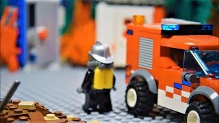 LEGO Firefighters: Real Heroes - Fire At The Construction Yard [S01E02]
