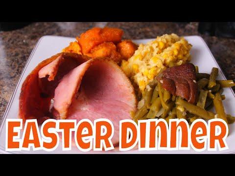 My Easter Dinner