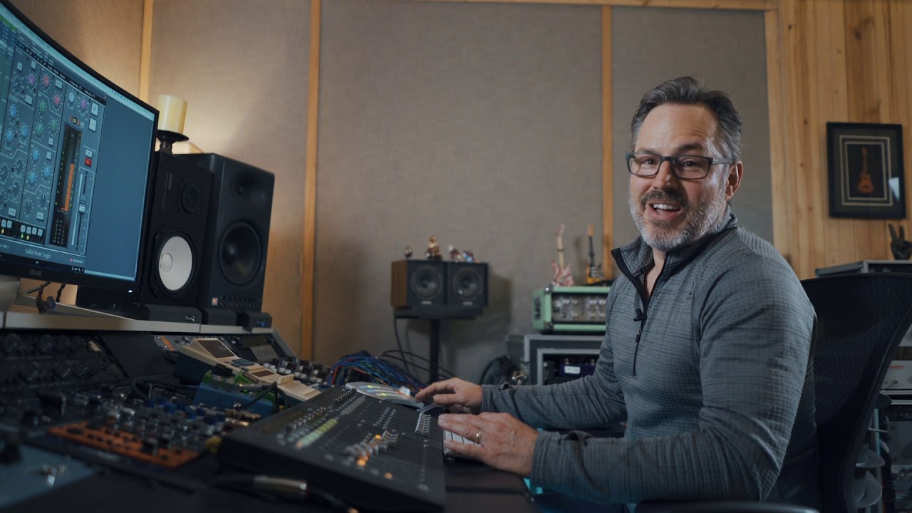 In the Sweet-Spot with Joe Carrell: The SSL Consoles | Plugin Alliance