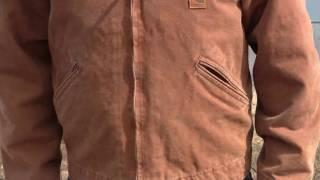 J97 Carhartt Sandstone Detroit Jacket - Getzs.com