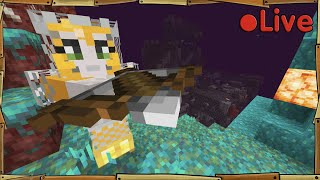 Relearning Minecraft - Nether update - 🔴 Live