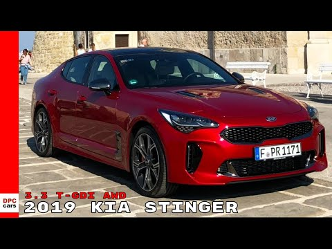 Kia Stinger . T-GDI AWD in Balkans