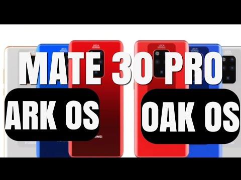 Huawei Mate 30 Pro Leaks And Ark / Oak OS On Board!!