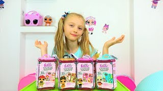 Collection of videos for children about new toys.