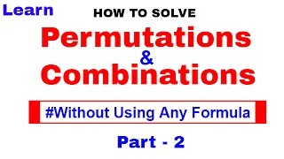Permutations And Combinations Tricks for SBI & Bank PO [In Hindi] Part -2