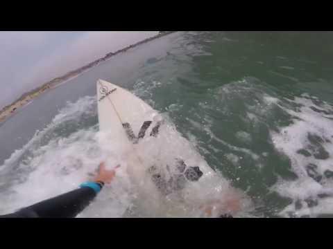 Surfing Morro Bay 7/9/17 (Raw Cut)