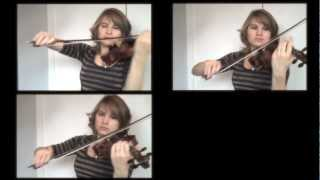 The Hobbit - Misty Mountains (Dwarven Song) Violins - Taylor Davis