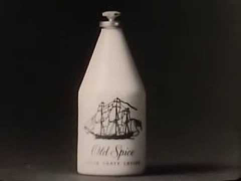 Vintage Old 1960's Shulton Old Spice Aftershave Lotion Commercial