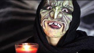 Halloween Makeup☆ Creepy Witch Makeup Thumbnail