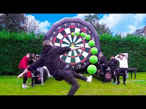 SIDEMEN GIANT FOOTBALL