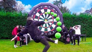 One of Sidemen's most viewed videos: SIDEMEN GIANT FOOTBALL DARTS