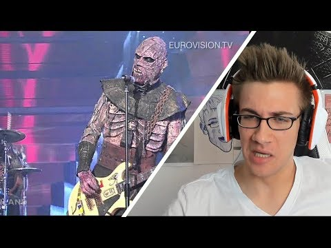 Lordi - Hard Rock Hallelujah (Finland) 2006 Eurovision Song Contest Winner - REACTION