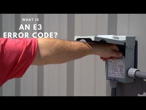 E3 Error Code - MRCOOL DIY Ductless Mini Split - YouTube