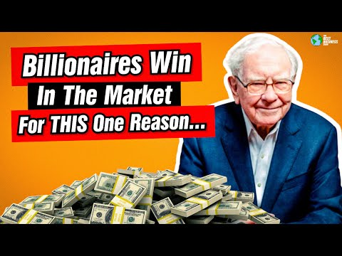 Billionaires Win In The Market For This One Reason