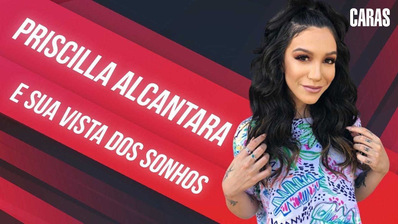 PRISCILLA ALCANTARA FAZ TOUR POR SUA CASA DE LUXO (2019)