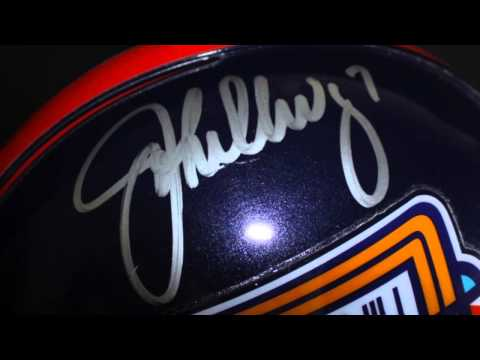 Auction: John Elway & Terrel Davis Signed Full-Size Authentic Pro Line Broncos SB XXXIII Helmet