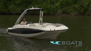 2012 Bayliner 217 Deck Boat Video Review