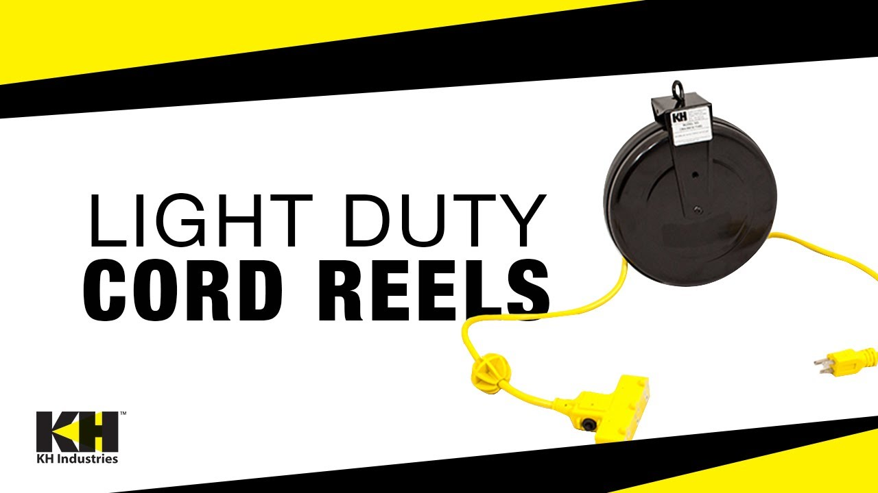 Light Duty Cord Reels | Compact Retractable Reels For Indoor Use ...