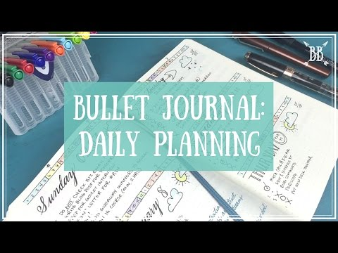 Bullet Journal - Daily Planning