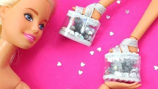 6 DIY BARBIE HACKS AND CRAFTS ~ HOW TO MAKE BARBIE SHOES ~ EASY MINIATURES